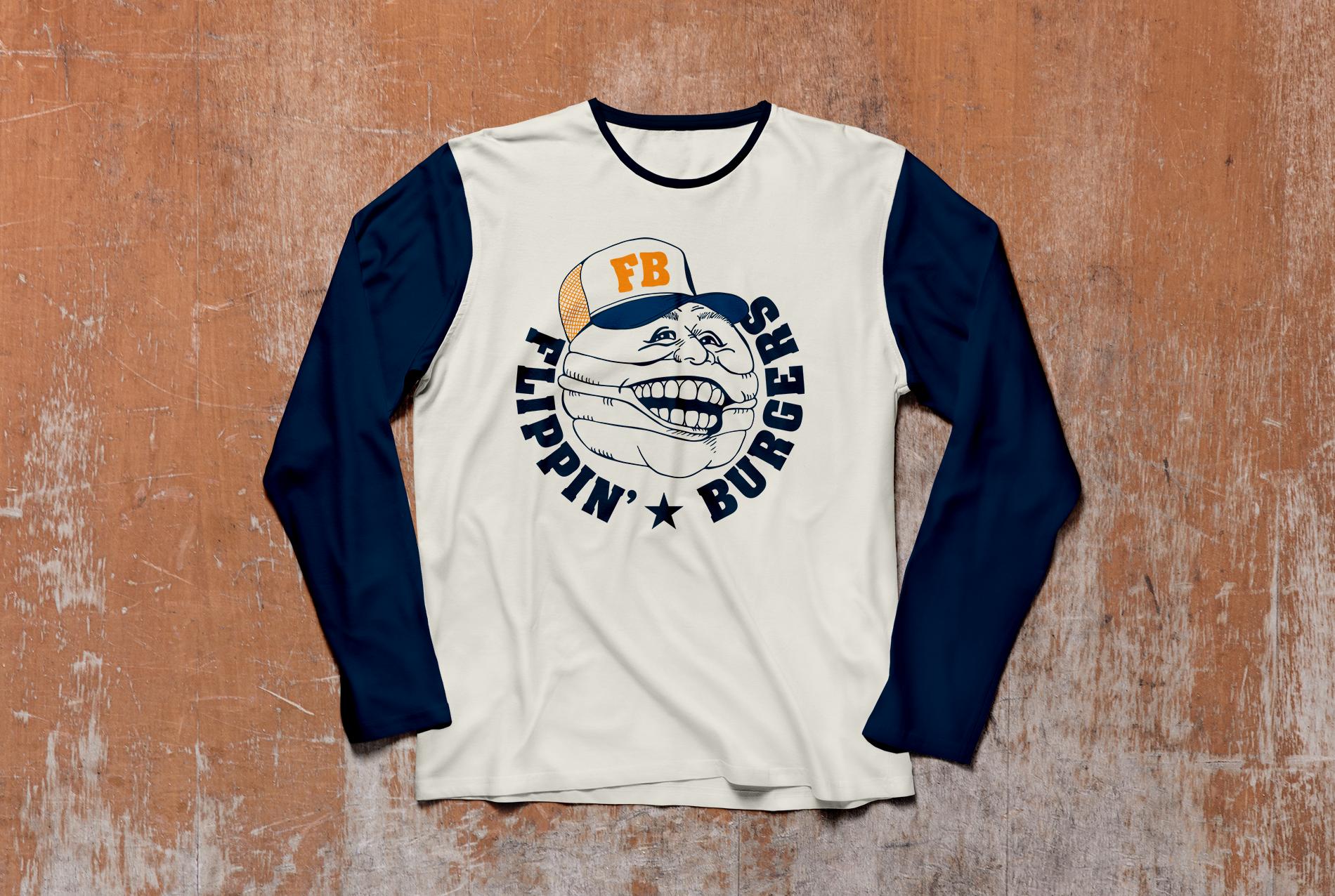 Flippin-Burgers_Long Sleeve-T-Shirt